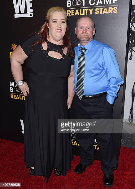 TV personalities Mama June Shannon and Mike 'Sugar Bear' Thompson arrive at the premiere of 'Marriage Boot Camp' Reality Stars And 'Ex Isle' at Le...