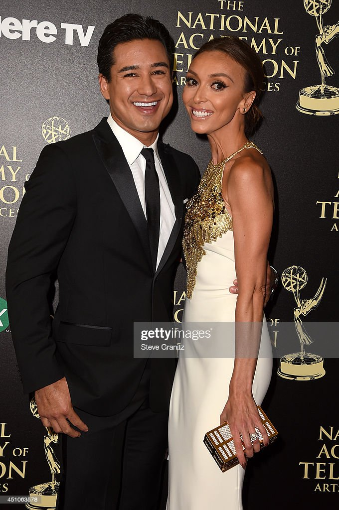 TV personalities Mario López (L) and Giuliana Rancic attend The 41st Annual Daytime Emmy Awards at The Beverly Hilton Hotel on June 22, 2014 in Beverly Hills, Calfornia.