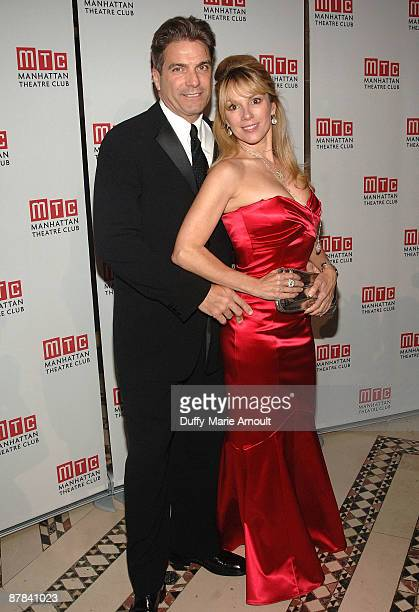 Personalities Mario Singer and Ramona Singer attend the 2009 Manhattan Theatre Club's spring gala at Cipriani 42nd Street on May 18 2009 in New York...