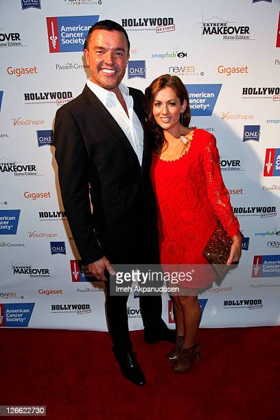 "Personalities Michael Moloney and Jillian Harris attend the premiere of ABC's ""Extreme Makeover: Home Edition"" Season 9 at Vibiana on September 25,..."