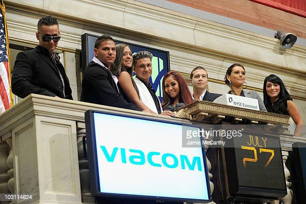 TV personalities Michael 'The Situation' Sorrentino Ronnie OrtizMagro Sammi 'Sweetheart' Giancola Paul Pauly D DelVecchio Nicole 'Snooki' Polizzi...