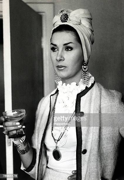 1960's British fashion model showgirl and socialite April Ashley pictured at the Northern Sporting Club April Ashley born 1936 caused a sensation...