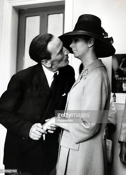 September 1963 British fashion model showgirl and socialite April Ashley marries Arthur Corbett the son of Lord Rowallan in Gibralter April Ashley...