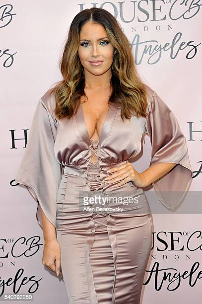 Personalities Olivia Pierson attends the House of CB Flagship Store Launch party at the House of CB on June 14 2016 in West Hollywood California