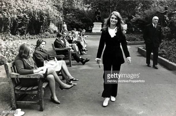 20th September 1966 Brigitte Bardot's sister Mijanou Bardot pictured in London