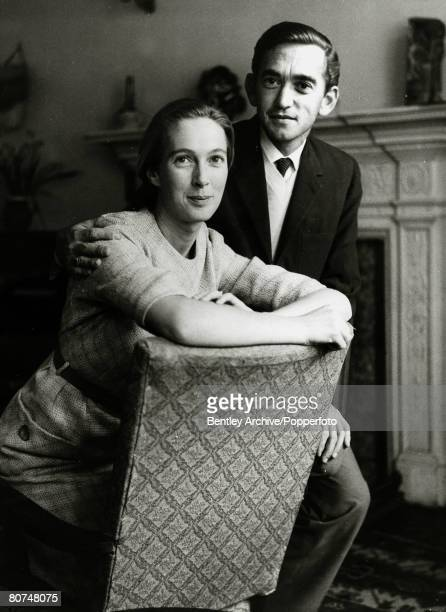 5th March 1964, Jane Goodall wuth her husband Baron Hugo Van Lawick