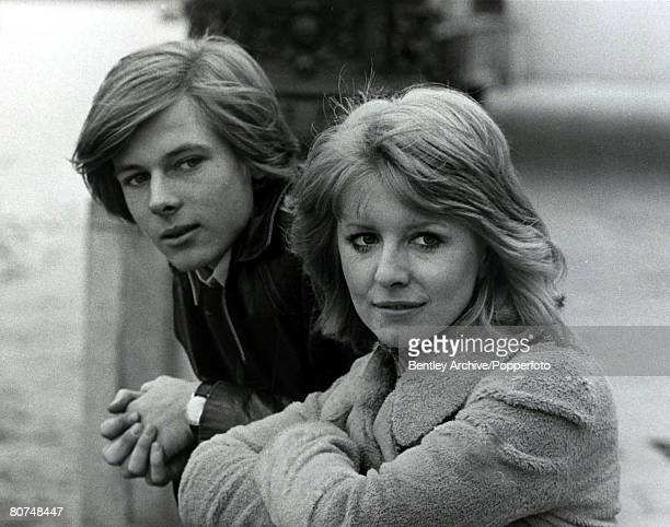 5th November 1970 British actress Jane Asher and John MoulderBrown the stars of a new film called Deep End