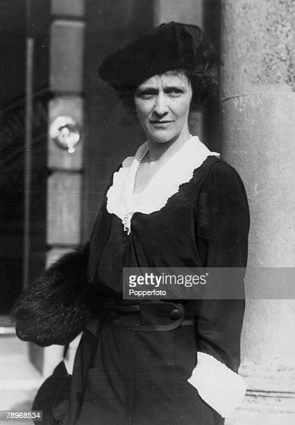 Personalities, Politics, pic: 4th November 1919, Lady Astor, pictured when a candidate in the by-election in Plymouth in 1919, Lady Astor won the...