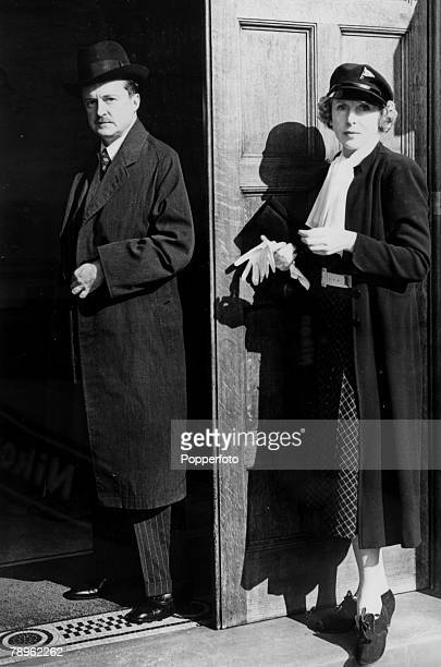 October 1938 Alfred Duff Cooper and his wife Lady Duff Cooper after he had made a statement in the House of Commons on his resignation as First Lord...