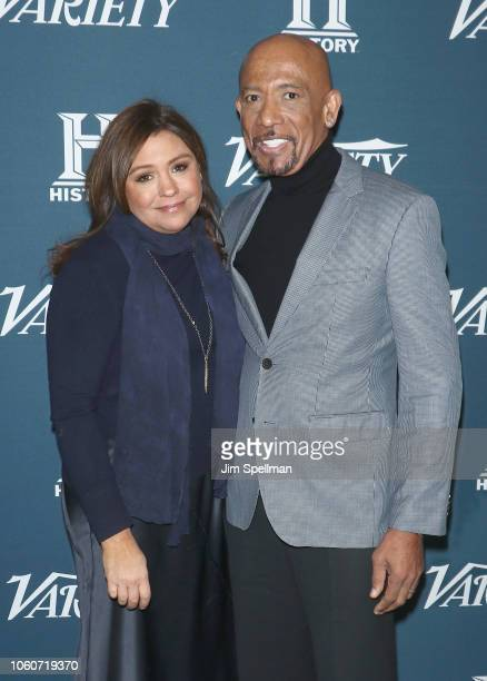 TV personalities Rachael Ray and Montel Williams attend the 2nd Annual Variety Salute to Service at Cipriani Downtown on November 12 2018 in New York...