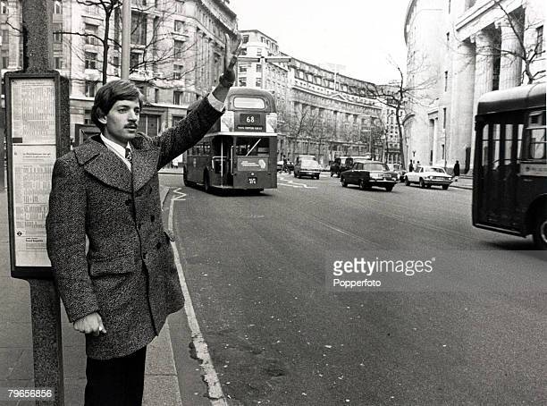 Personalities Racial Discrimination pic 8th March 1978 American David Duke the 27 year old leader of the infamous Klu Klux Klan pictured in London