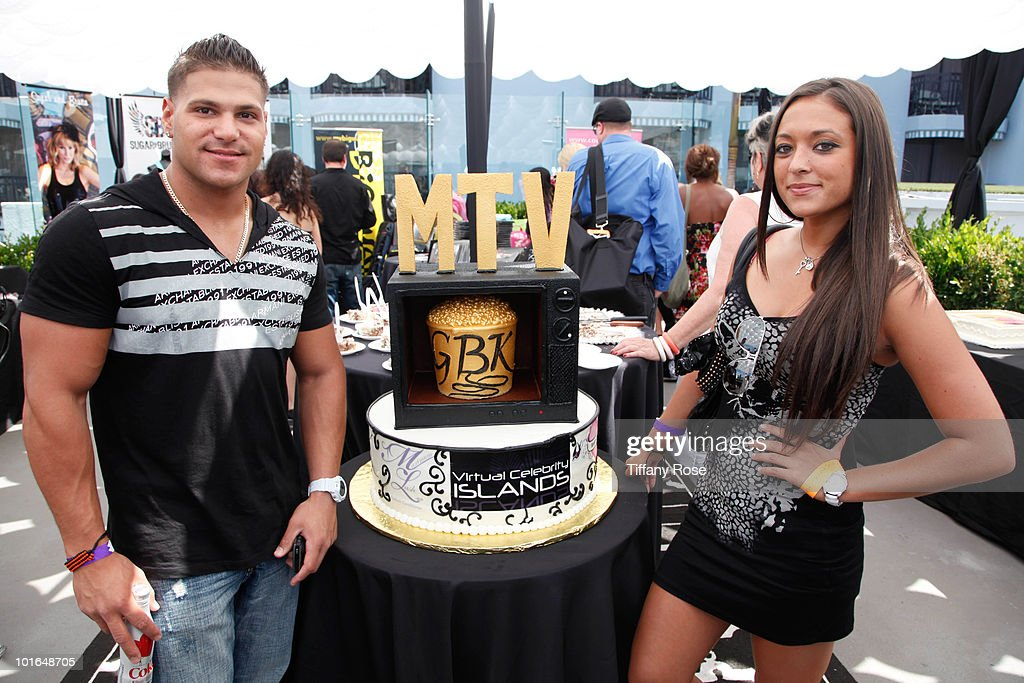 TV personalities Ronnie Magro and Sammi 'Sweetheart' attend GBK's Gift Lounge in Honor of the 2010 MTV Movie Awards - Day 1 at The London Hotel on June 4, 2010 in West Hollywood, California.