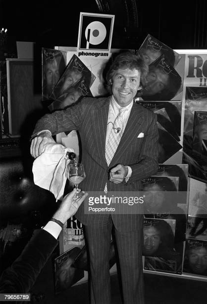 9th October 1978 Roddy Llewellyn a friend of Princess Margaret celebrating his 32 nd birthday at a London club