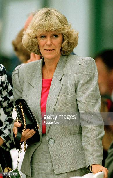 Personalities, Royalty, pic: 7th May 1992, Queens Cup Final at Guards Polo Club, Windsor, Lady Camilla Partker-Bowles