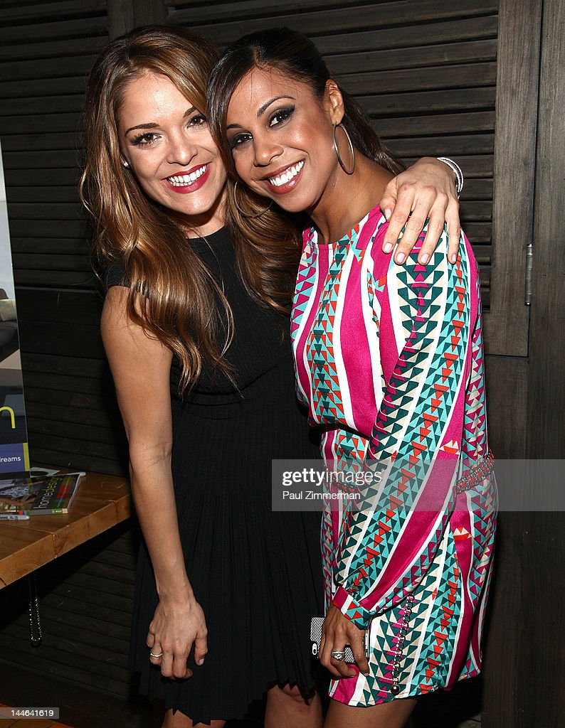 TV Personalities Sabrina Soto And Taniya Nayak Attend The Sabrina Soto Home  Design Book Party At