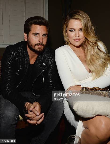 TV personalities Scott Disick and Khloe Kardashian attend Opening Ceremony and Calvin Klein Jeans' celebration launch of the #mycalvins Denim Series...