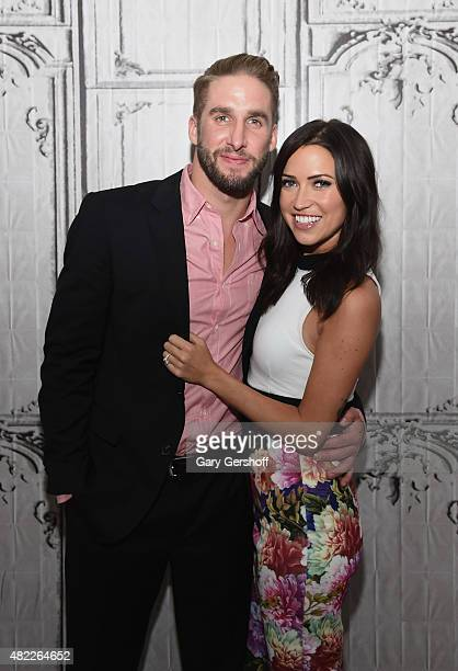 TV personalities Shawn Booth and Kaitlyn Bristowe attend AOL Build Presents After the Final Rose at AOL Studios In New York on July 29 2015 in New...
