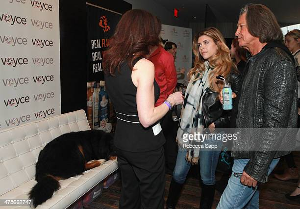 TV personalities Shiva Safai and Mohammed Hadid attend Kari Feinstein's PreAcademy Awards Style Lounge at the Andaz West Hollywood on February 28...