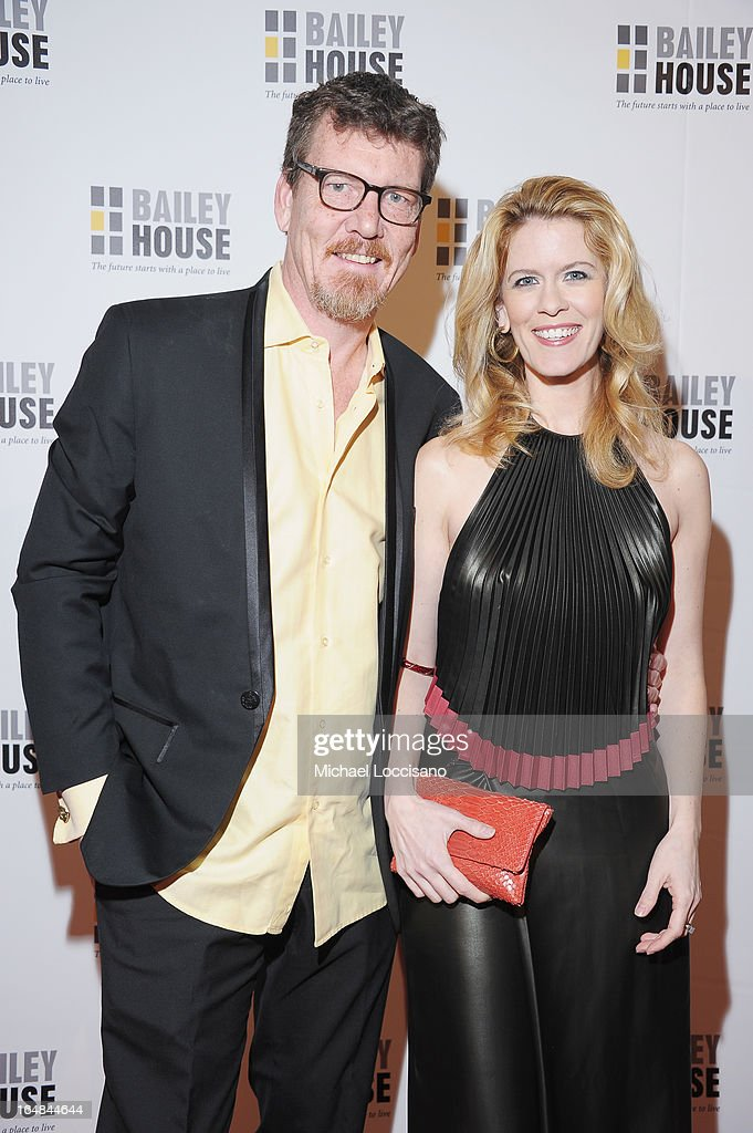 TV Personalities Simon van Kempen and wife Alex McCord attends the Bailey House 30th Anniversary Gala at Pier 60 on March 28, 2013 in New York City.