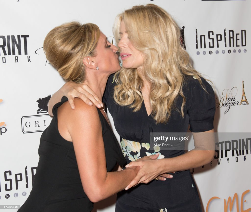TV personalities Sonja Morgan and Aviva Drescher attend the 'Inspired In New York' event on July 11, 2013 in New York, United States.