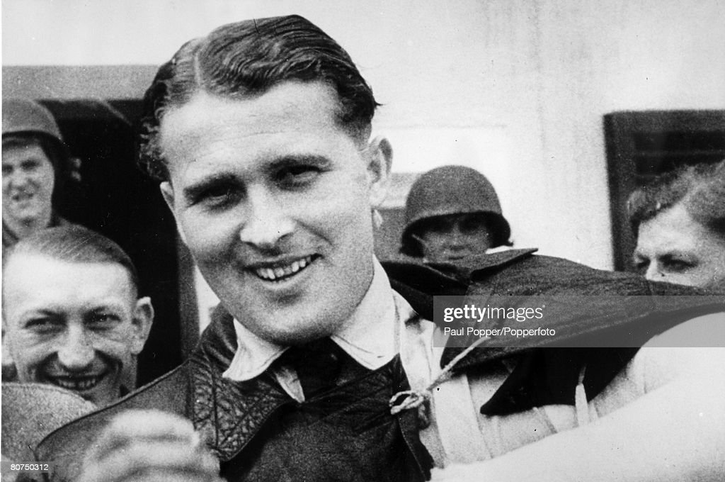 1945, Rocket pioneer Werner von Braun, (1912-1977) pictured after his capture by Allied forces before his move to live in America, Werner von Braun born in Germany was director of Hitler's research station at Peenemunde and creator of the V-2 rockets in World War II, and as he became a US citizen involved in the US, space programme