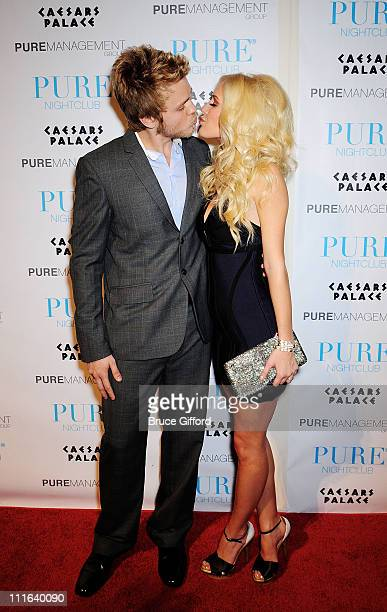 "Personalities Spencer Pratt and Heidi Montag arrive at ""PUREfection"" New Years Eve Party an Evening at PURE Nightclub inside Caesars Palace Hotel and..."