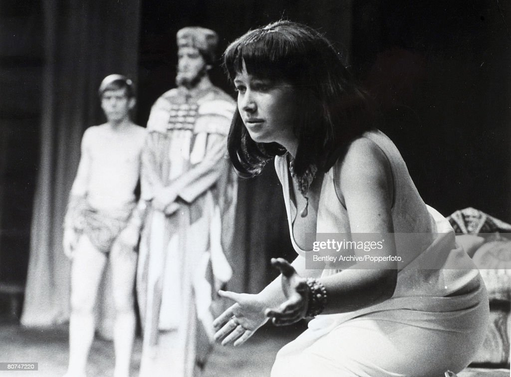 "Personalities Stage and Screen. pic: 6th September 1965. British actress Helen Mirren (born 1945 Ilyena Vasilievna Mironov) acclaimed film and stage actress, pictured when she was appearing at the Old Vic, London in the role of ""Cleopatra"". : News Photo"