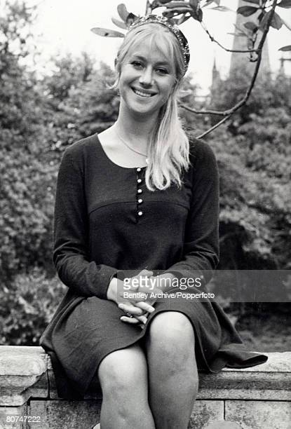 7th June 1968 Stratford Upon Avon British actress Helen Mirren acclaimed film and stage actress pictured when she was appearing with the Royal...