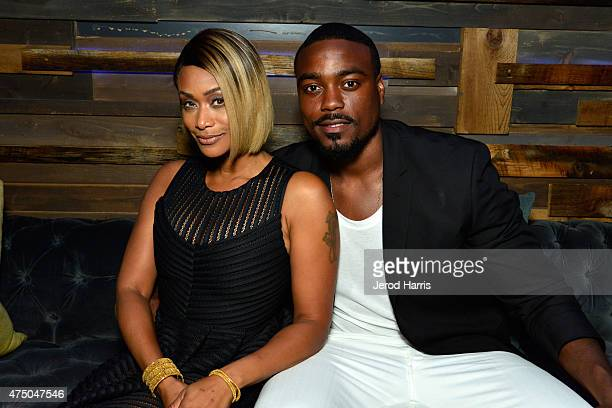 TV personalities Tami Roman and Reggie Youngblood attend the premiere party for the third season of Marriage Boot Camp Reality Stars hosted by WE tv...