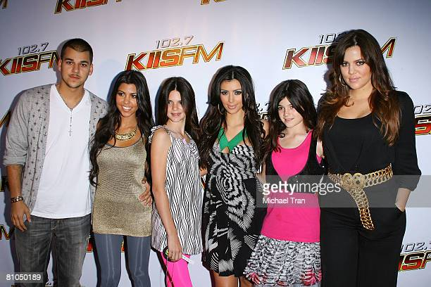 "Personalities The Kardashians arrive at the KIIS FM's ""Wango Tango"" 2008 concert held at the Verizon Wireless Amphitheater on May 10, 2008 in Irvine,..."