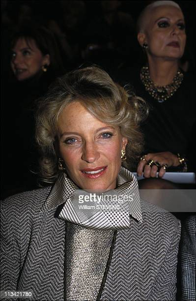Personalities To HauteCouture On January 1993