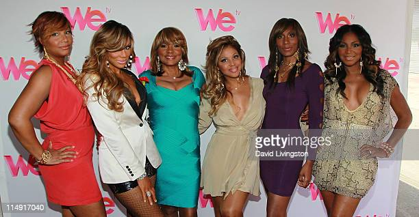 Personalities Traci Braxton, Tamar Braxton and Evelyn Braxton, recording artist Toni Braxton and TV personalities Towanda Braxton and Trina Braxton...