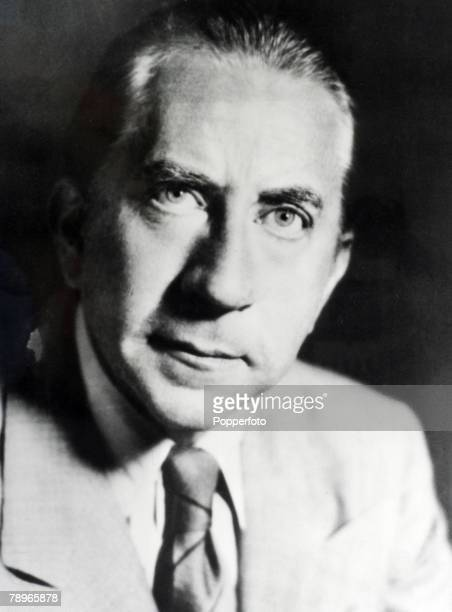 Personalities Undated Portrait of Jean Paul Getty