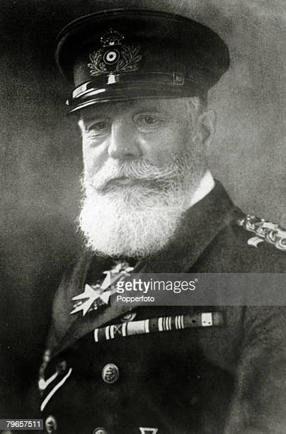 Personalities, War and Conflict, pic: circa 1910's, Admiral von Holtzendorff German Admiral during World War I who advocated the use of unrestricted...