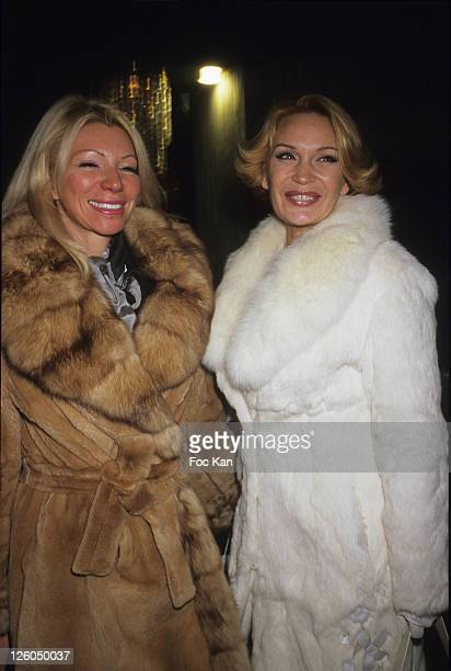 TV personalities/presenters Nadine Rodd and Marlene Mourreau attend the Trophees de La Nuit 2010 Night Clubbing Awards at the Lido on November 29...