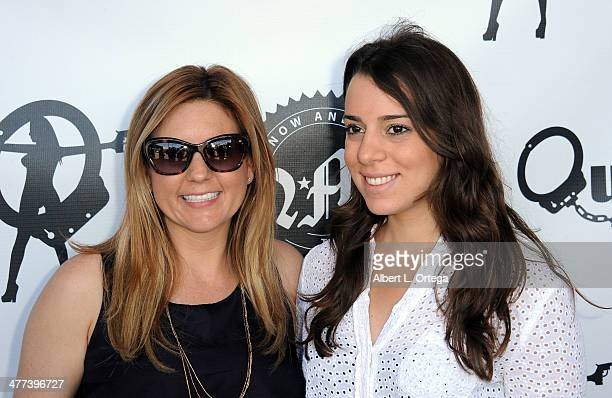 TV personalities/reality star Brandi Passante and actress Jessica Rosenwald attend the Premiere Party For Storage Wars Season 4 held at Now and Then...
