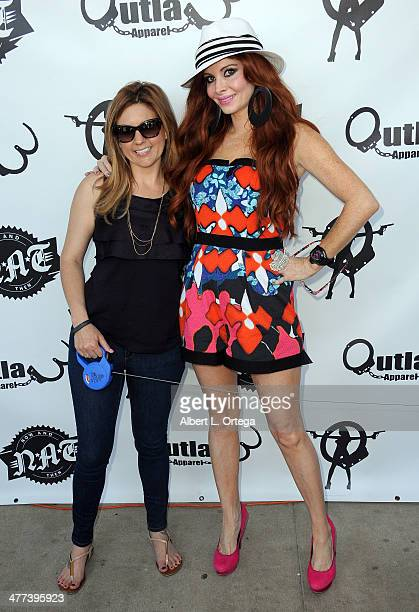 TV personalities/reality stars Brandi Passante and Phoebe Price attend the Premiere Party For Storage Wars Season 4 held at Now and Then Thrift Store...