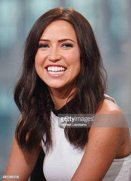 TV personalitiy Kaitlyn Bristowe attends the AOL BUILD Speaker Series presentation of After the Final Rose at AOL Studios in New York on July 29 2015...