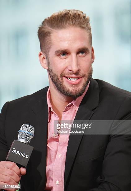 TV personalitiy Shawn Booth attends the AOL BUILD Speaker Series presentation of After the Final Rose at AOL Studios in New York on July 29 2015 in...