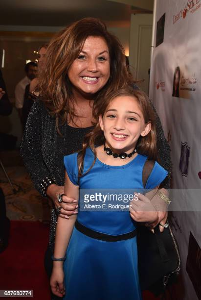 TV personality Abby Lee Miller and Lexy Rodriguez attend the 3rd Annual Whispers From Children's Heats Foundation Legacy Charity Gala at Casa Del Mar...