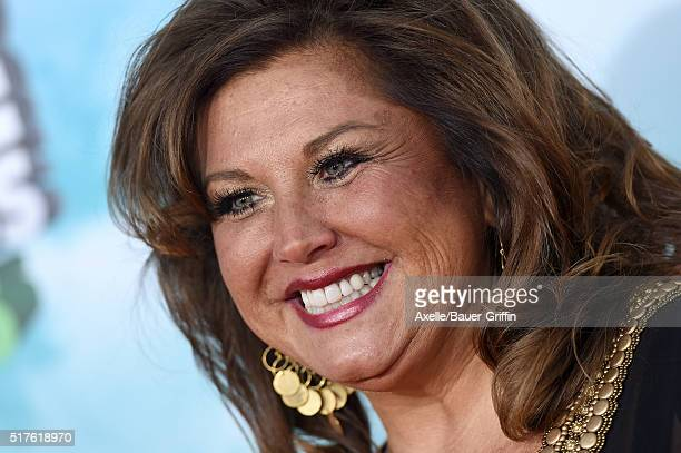 TV personality Abby Lee Miller arrives at Nickelodeon's 2016 Kids' Choice Awards at The Forum on March 12 2016 in Inglewood California
