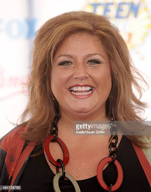 TV personality Abby Lee Miller arrives at the 2014 Teen Choice Awards at The Shrine Auditorium on August 10 2014 in Los Angeles California