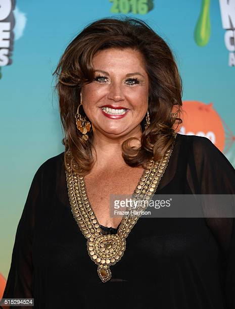 TV personality Abby Lee Miller attends Nickelodeon's 2016 Kids' Choice Awards at The Forum on March 12 2016 in Inglewood California