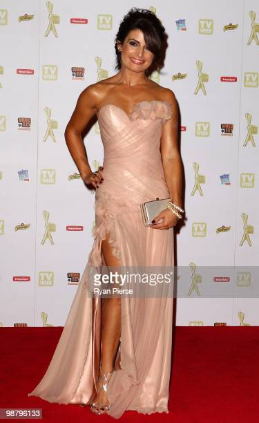 TV personality Ada Nicodemou arrives at the 52nd TV Week Logie Awards at Crown Casino on May 2 2010 in Melbourne Australia