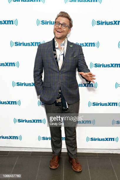 TV personality Adam Conover visits the SiriusXM Studios on November 29 2018 in New York City
