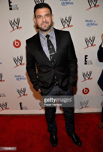 TV personality Adam Richman attends WWE E Entertainment's SuperStars For Hope at the Beverly Hills Hotel on August 15 2013 in Beverly Hills California