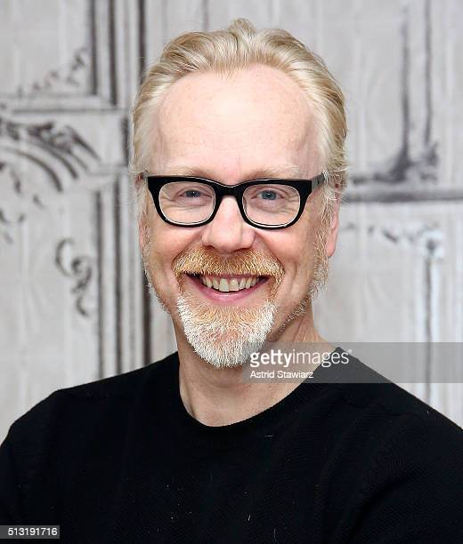 Personality Adam Savage attends AOL Build Presents 'Mythbusters' at AOL Studios In New York on March 1 2016 in New York City