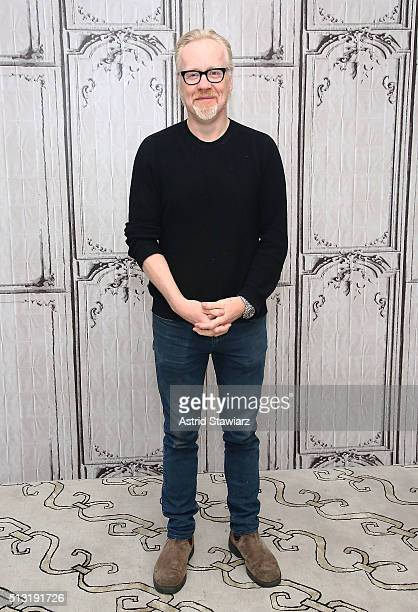 """Personality Adam Savage attends AOL Build Presents """"Mythbusters"""" at AOL Studios In New York on March 1, 2016 in New York City."""