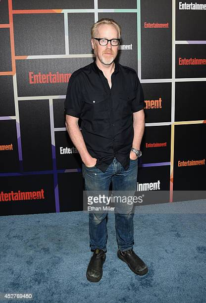TV personality Adam Savage attends Entertainment Weekly's annual ComicCon celebration at Float at Hard Rock Hotel San Diego on July 26 2014 in San...