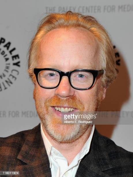 TV personality Adam Savage attends The Paley Center for Media's 'An Evening with The Discovery Channel's Mythbusters' on June 13 2011 in Beverly...
